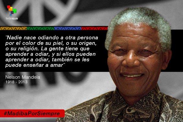 Conoce Madiba Conoce Frases Célebres Nelsonmandela