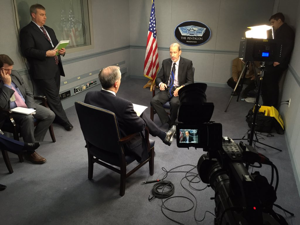 Interview with Sec. McCord for .@defense_news @Woolfolk12 watch Sunday Defense News with Vago Muradian WJLA/ABC