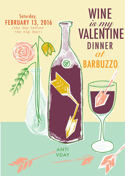 An Anti-Valentine's Day Party AtBarbuzzo