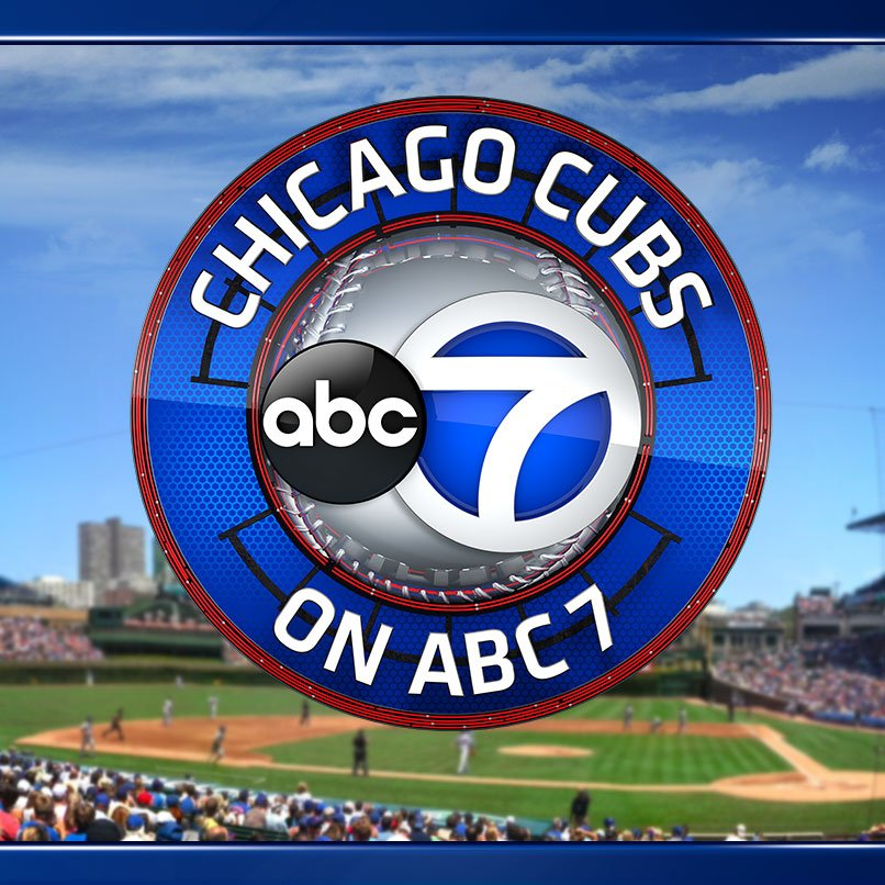 ABC 7 Chicago will broadcast the Cubs' opening night game on April 4th!