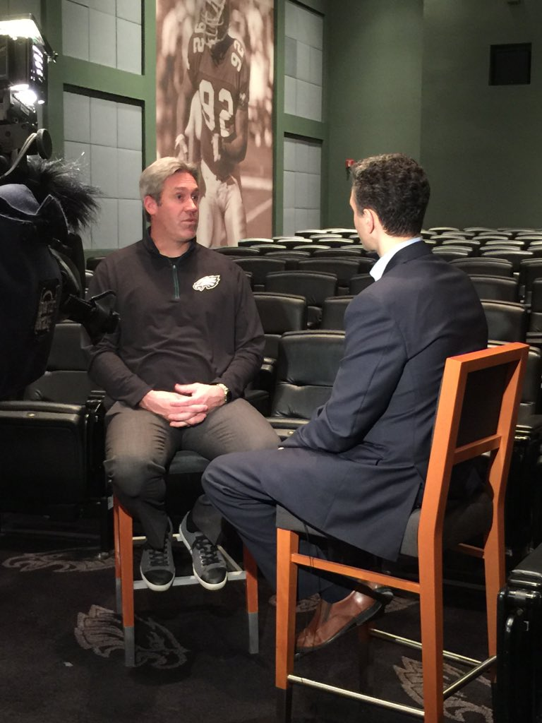 Eagles coach Doug Pederson doesn't feel like he needs to clean up Chip Kelly's mess - says they'll contend in 2016