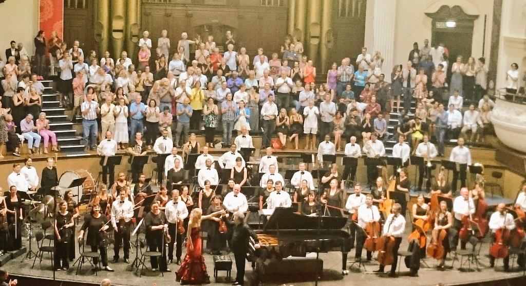 Olga Kern and the Cape Town Philharmonic Orchestra (Copyright: Eugene Yiga)