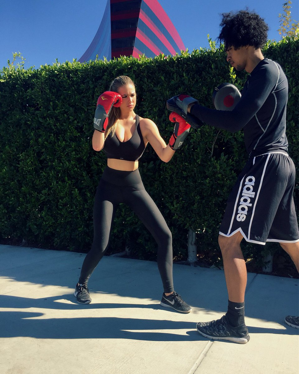 Camille Kostek Before And After: Antje Utgaard Boxing