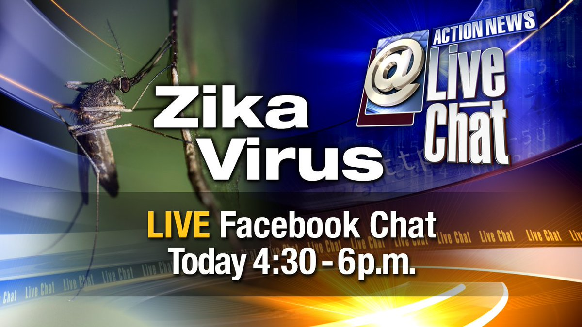 At 4:30: An infectious disease expert from @EinsteinHealth answers your Zika questions.
