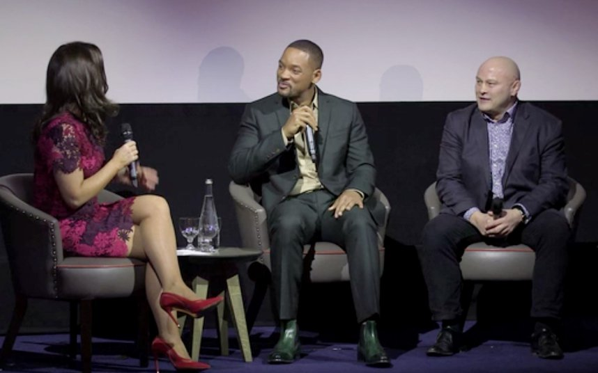 RT @TelegraphSport: Will Smith & @brianmoore666 are quizzed by @susannareid100 at screening of Concussion - https://t.co/HD3Z31Q4Sq https:/…