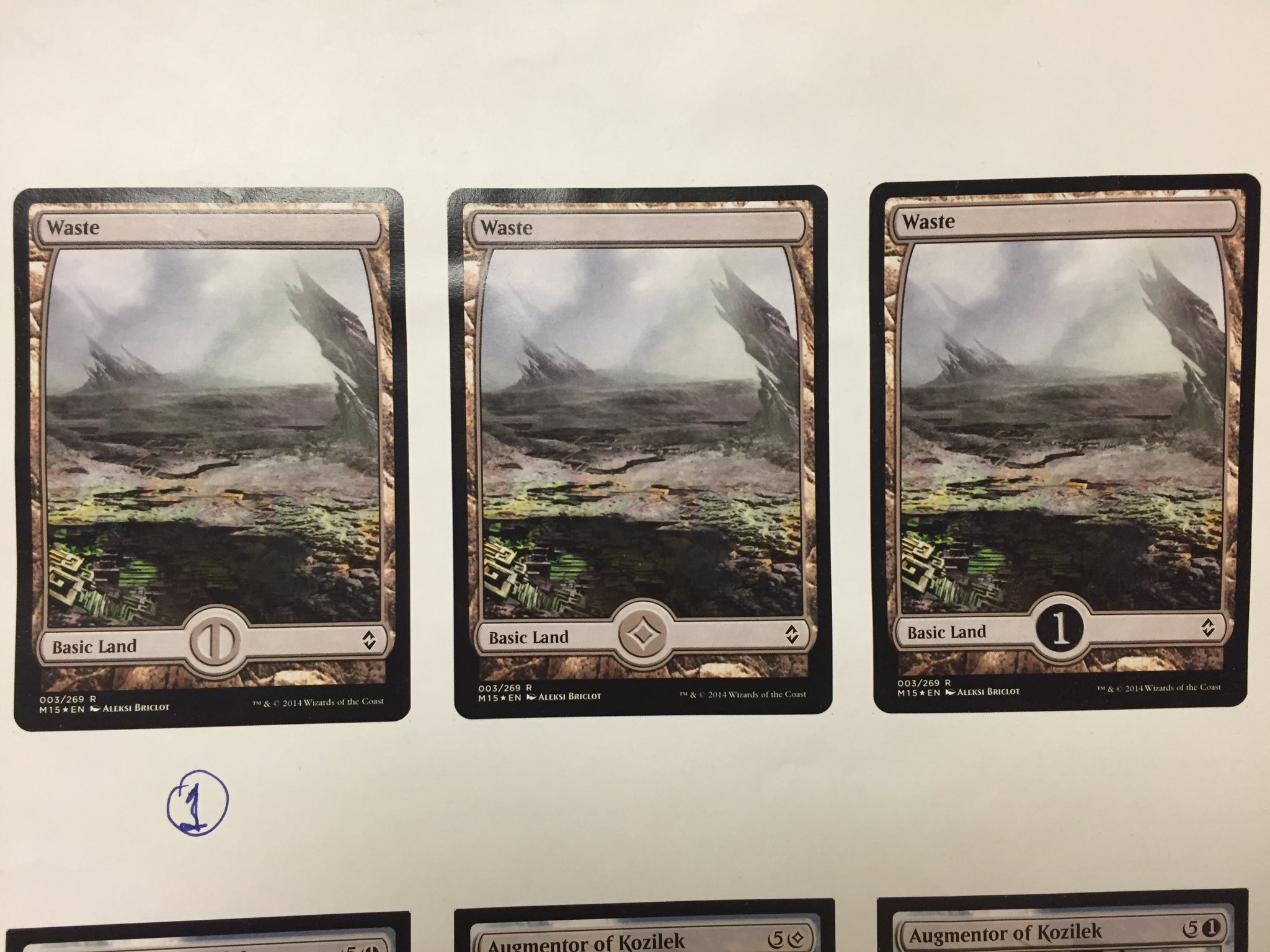 Magic the gathering oath ot gatewatch ot look again the aaron forsythe just posted some tossed out ideas for the colourless mana symbol on twitter biocorpaavc Choice Image