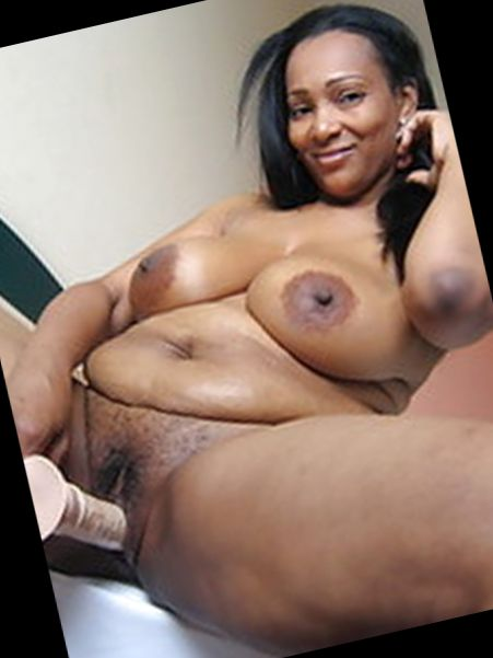 Big curvy naked woman