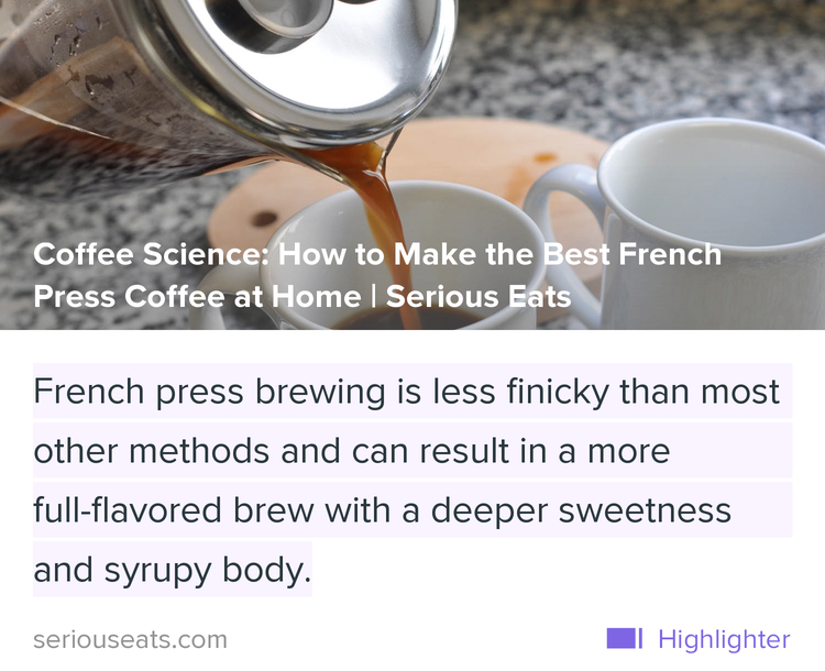 Major fan of @NickCho's French Press recipe. Deep sweetness/syrupy body = why FP is my go-to https://t.co/9B1J0Vyip1 https://t.co/ZV7Isp91Tm