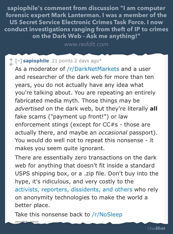 this guy was there to call him out on it. no idea how the AmA continued after this. https://t.co/RB7UEvz21Q