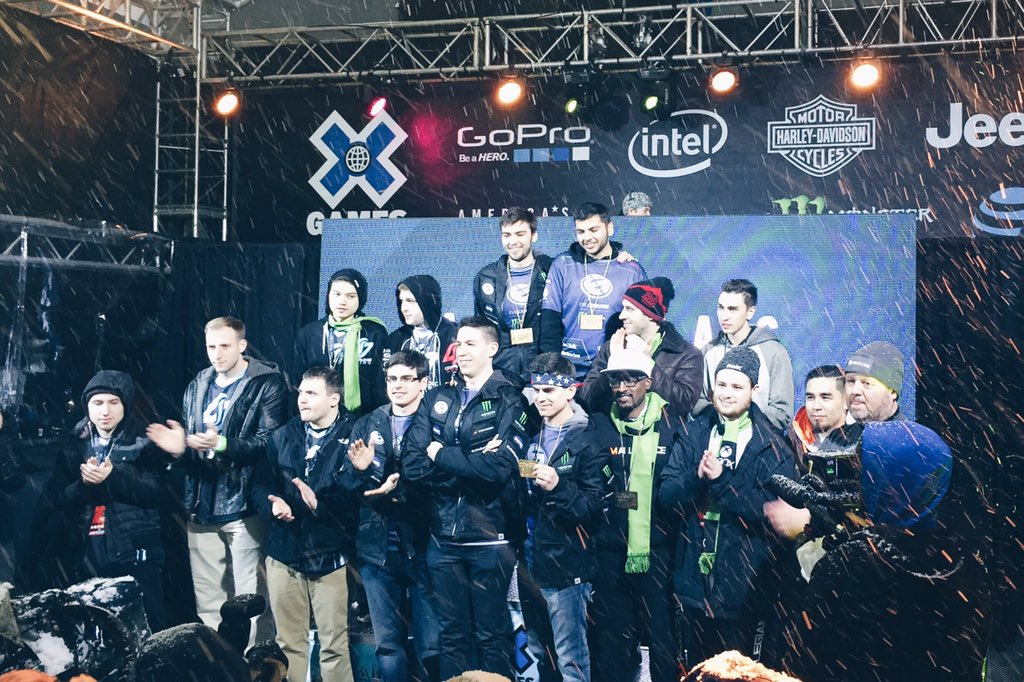 Your Halo 5: Guardians X Games Medalists! @EvilGeniuses @clgaming @TeamAllegiance https://t.co/5cY2YgF1Ex