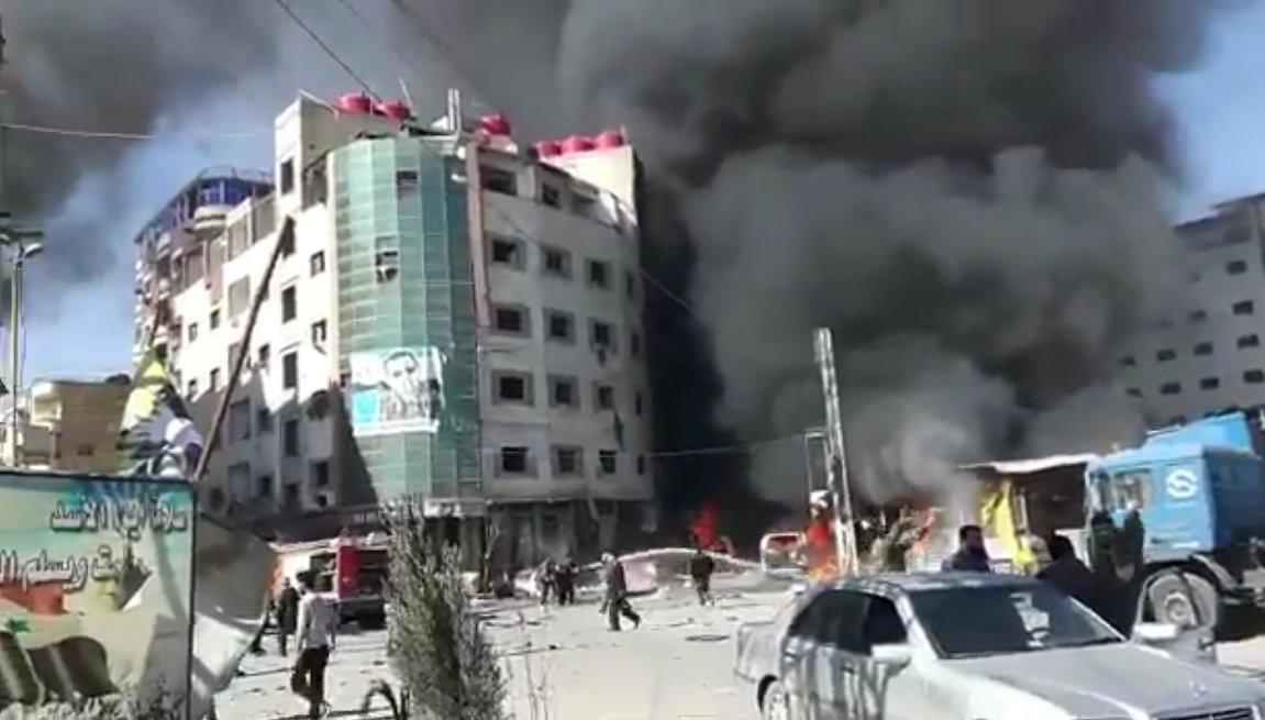 Attacco terroristico a Damasco con decine di vittime e feriti