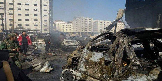 تفجيرات في منطقة السيدة زينب في دمشق