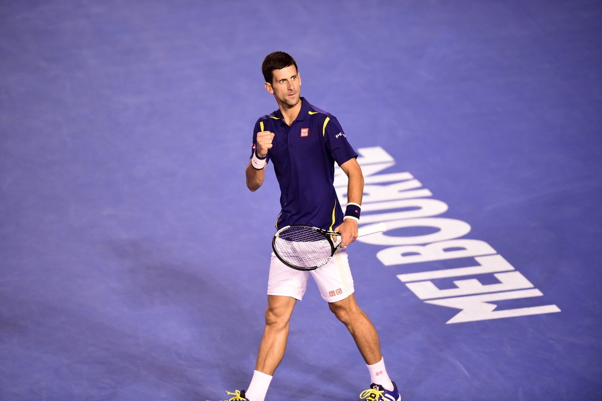CHAMPION  Novak Djokovic clinches a record-equaling SIXTH #AusOpen singles crown, beating Andy Murray 6-1 7-5 7-6(3) https://t.co/FYFKznXPFF