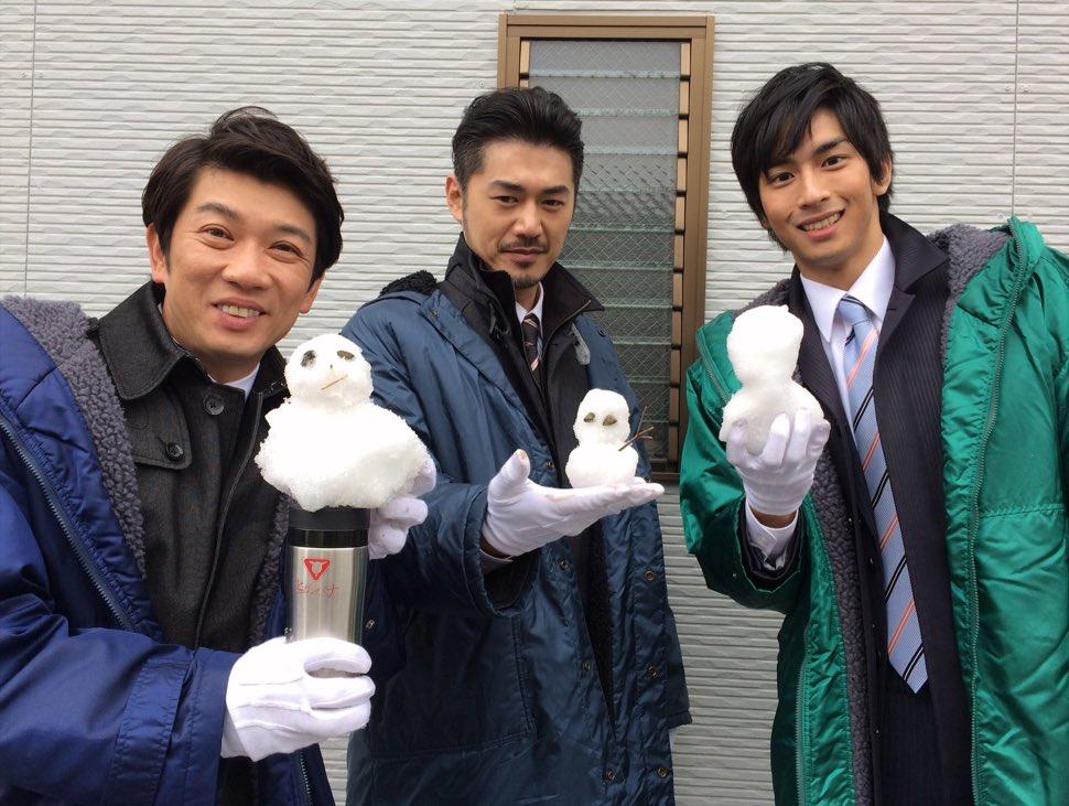 雪だるまと平山浩行