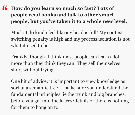 Elon Musk on how to build knowledge https://t.co/4xaj19f2ZL via @TIMEIdeas https://t.co/7IiNqNbJ4O