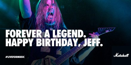 Marshall Amps On Twitter Forever A Legend Happy Birthday Jeff