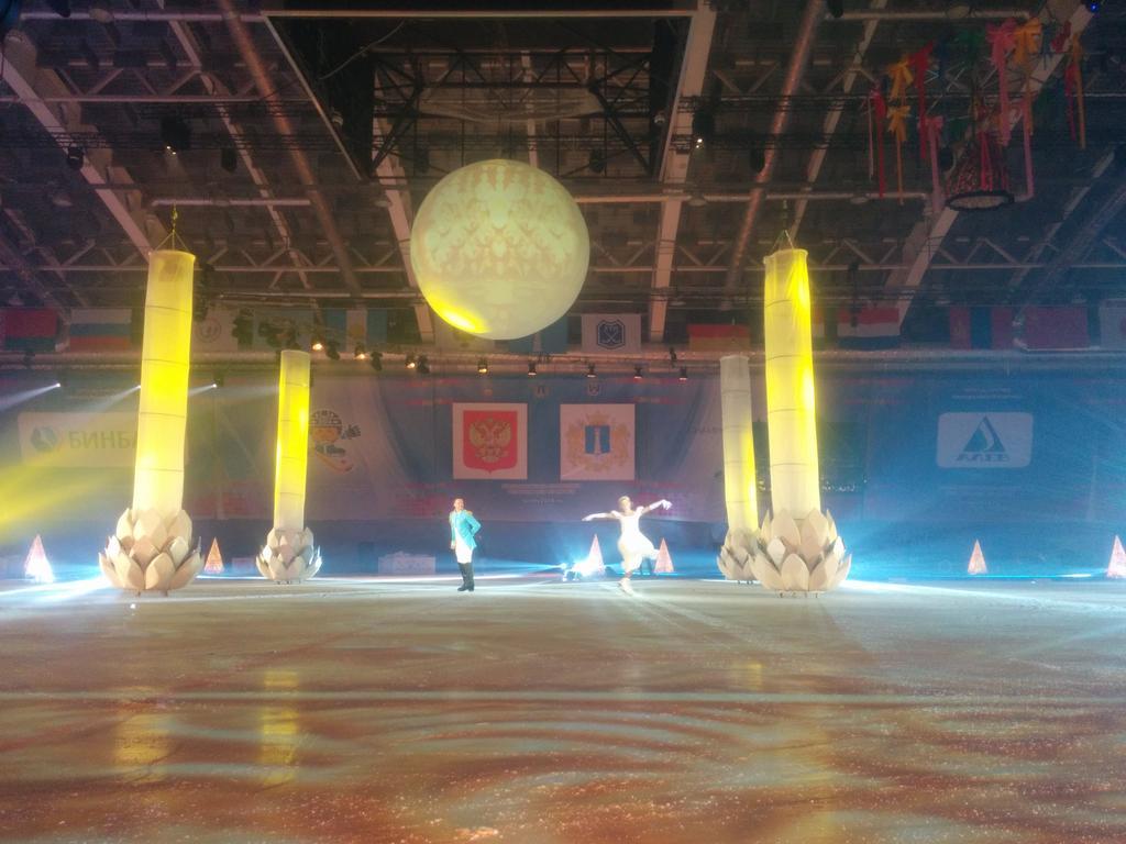 Церемония  открытия ЧМ по хоккею в Ульяновске CaCmCnzW0AAKz9A