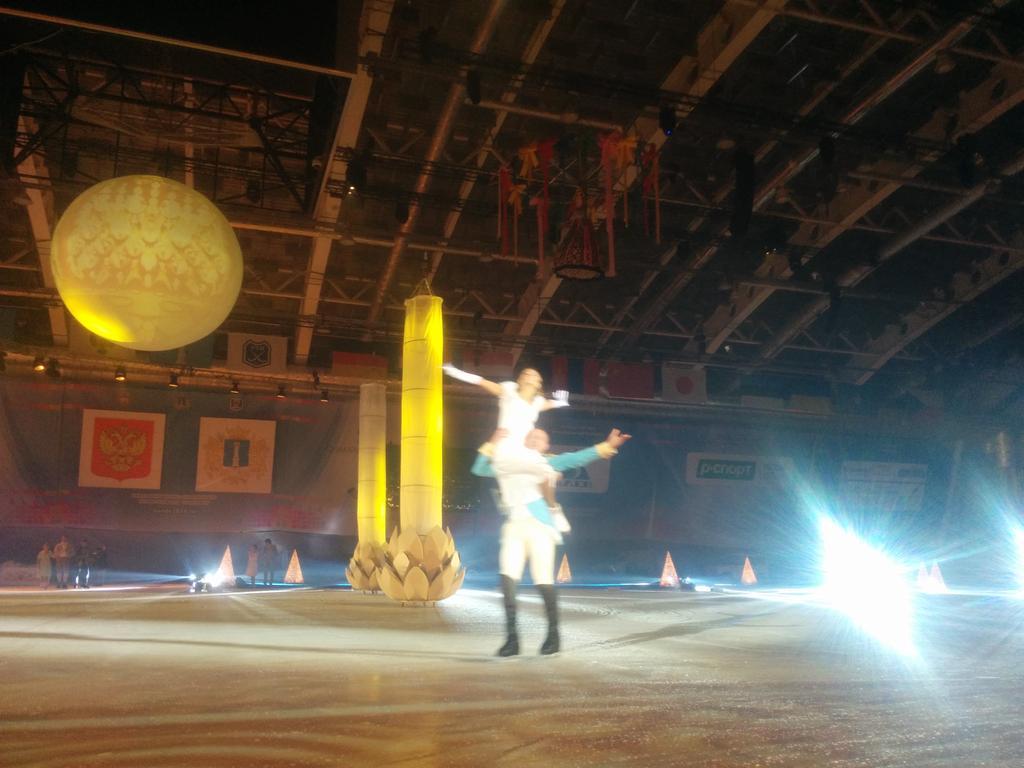 Церемония  открытия ЧМ по хоккею в Ульяновске CaCmSCUWIAEIAG4