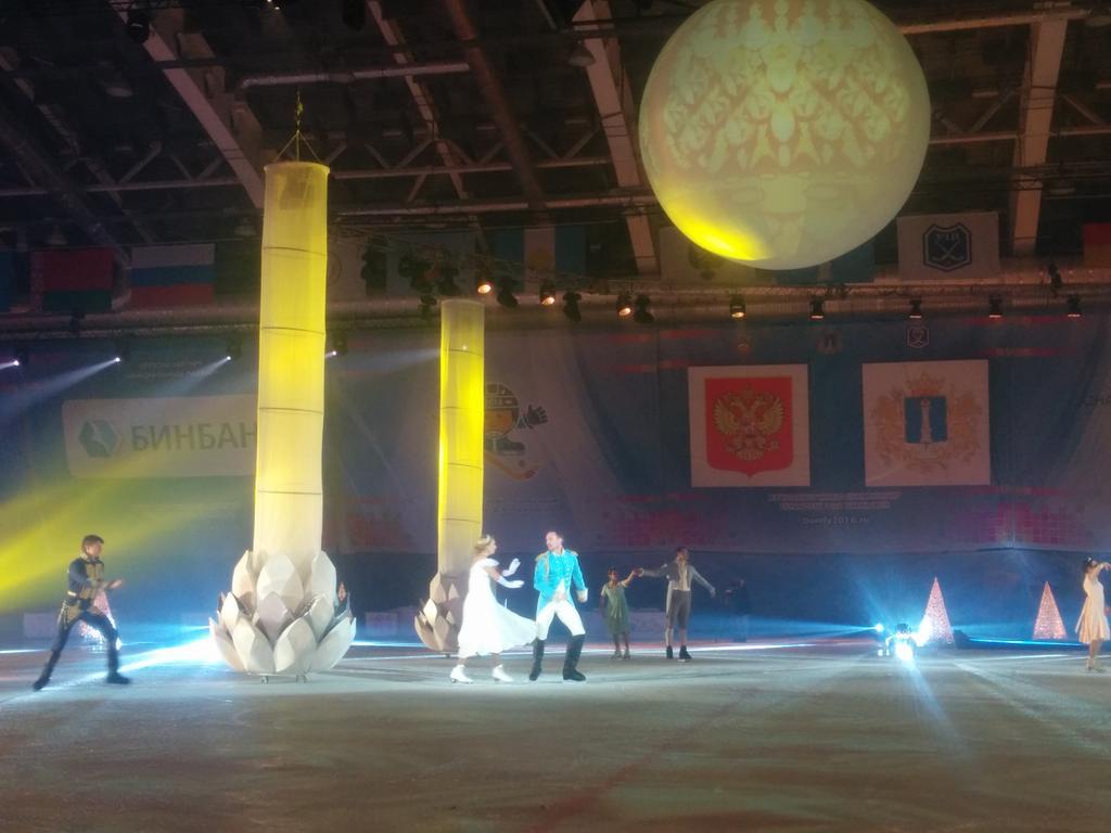 Церемония  открытия ЧМ по хоккею в Ульяновске CaCmY9xWEAEO7m6