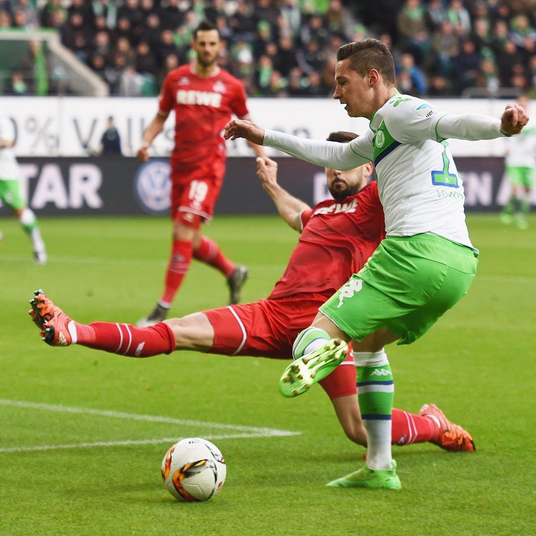 Draxler, autor do gol do Wolfsburg
