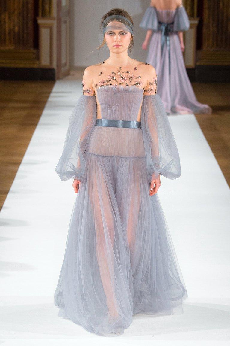 платья из тюля от кутюр фото
