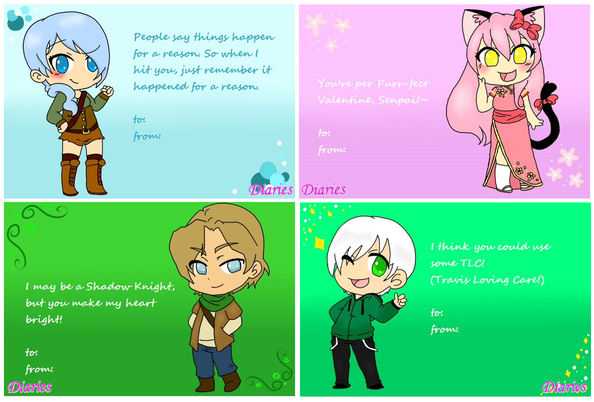 valentine cards pokemon