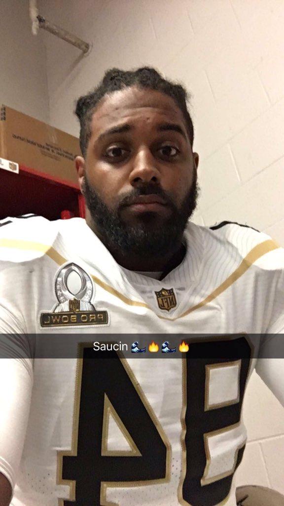 promo code fa7ab dc0aa Cam Jordan is ready #ProBowl #Saints https://t.co/qK3AadXHcq ...