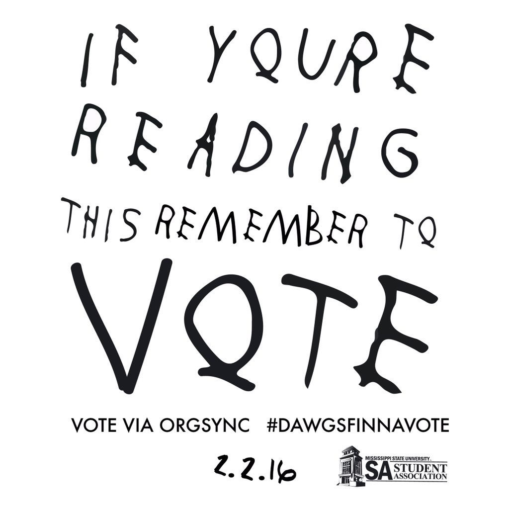 TUESDAY IS SA ELECTION DAY. #DawgsFinnaVote