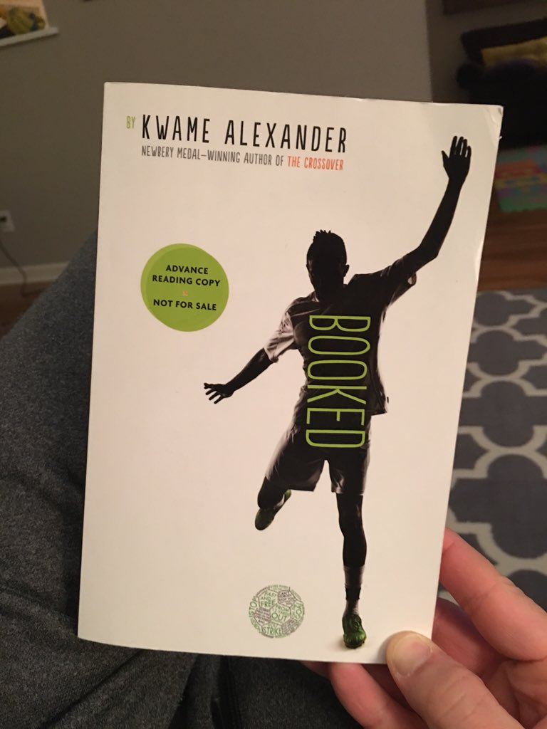 You've done it again @kwamealexander   Lyrical, empowering, honest, relevant, & emotional. #titletalk #nerdybookclub https://t.co/UWUibUUr8e