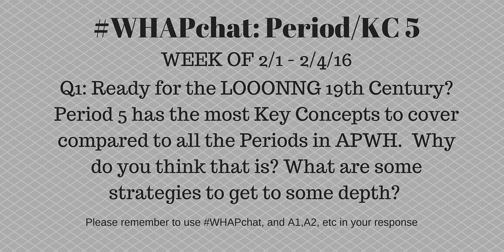 Thumbnail for #WHAPchat:  Period 5/KC 5