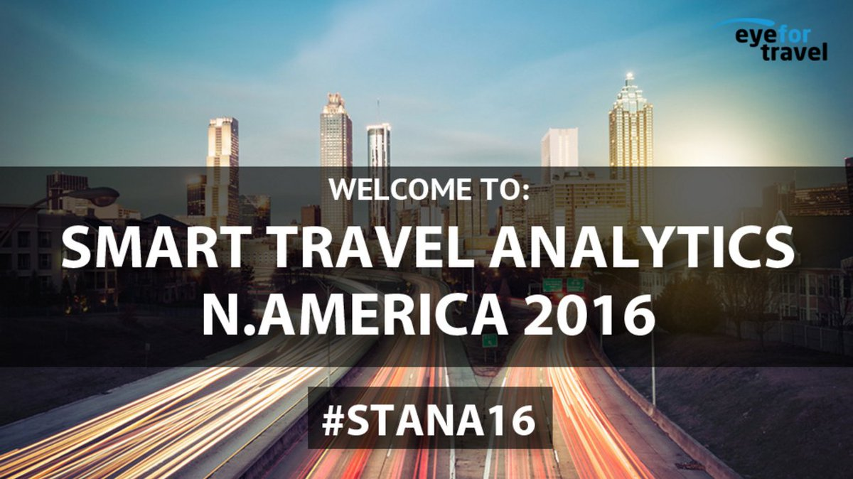#conference alert! Follow #STANA16 to get LIVE updates from Smart #Travel #Analytics taking place in Atlanta today https://t.co/TS1c20ZNgc