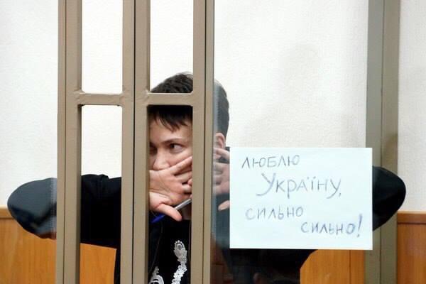 """Савченко подала жалобу по поводу украинского языка: """"Каждое свидание я борюсь за то, чтобы говорить с родными на родном украинском"""" - Цензор.НЕТ 8832"""