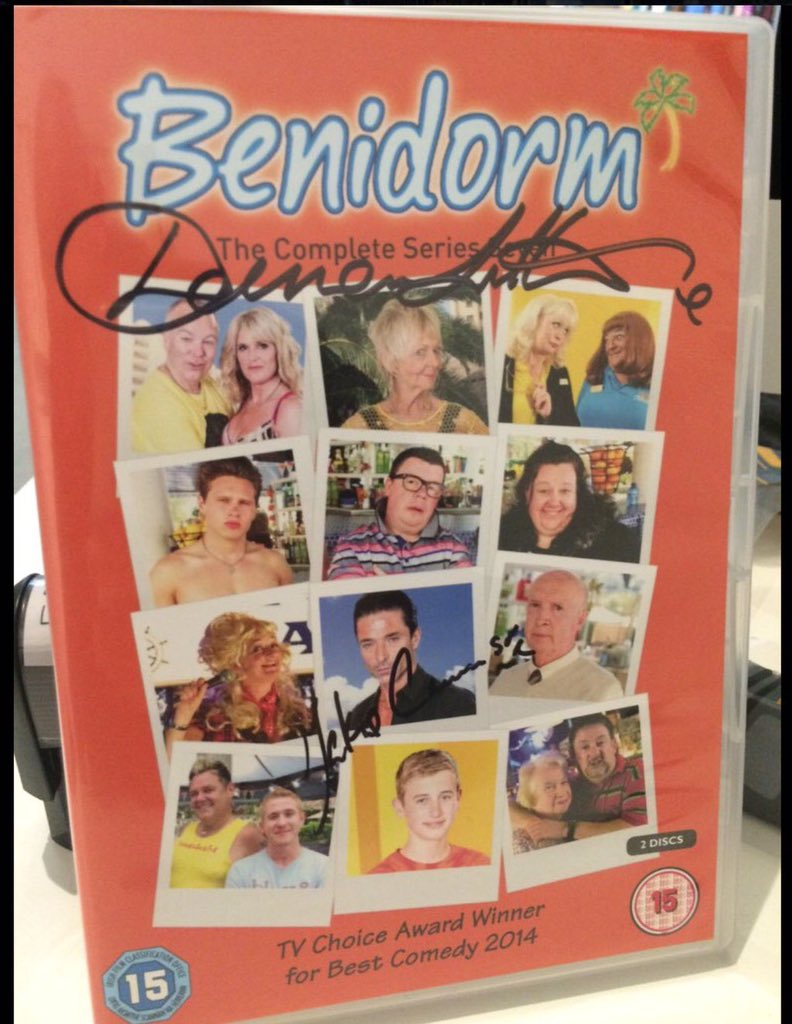 We are giving way another signed #Benidorm double DVD today!  Just RT this tweet for a chance to win! RT https://t.co/jcU8I4O3vH