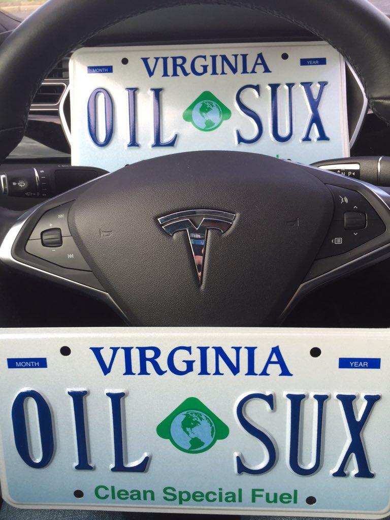 Virginia Clean Fuel Plates - Best Plate 2018