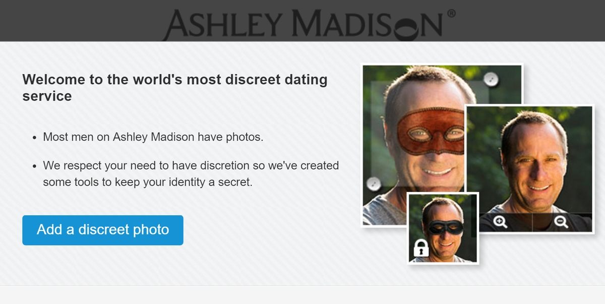 Ashley Madison has implemented a new feature to ensure your identity remains private and no, this is not a joke! https://t.co/YWBUf5TNhi