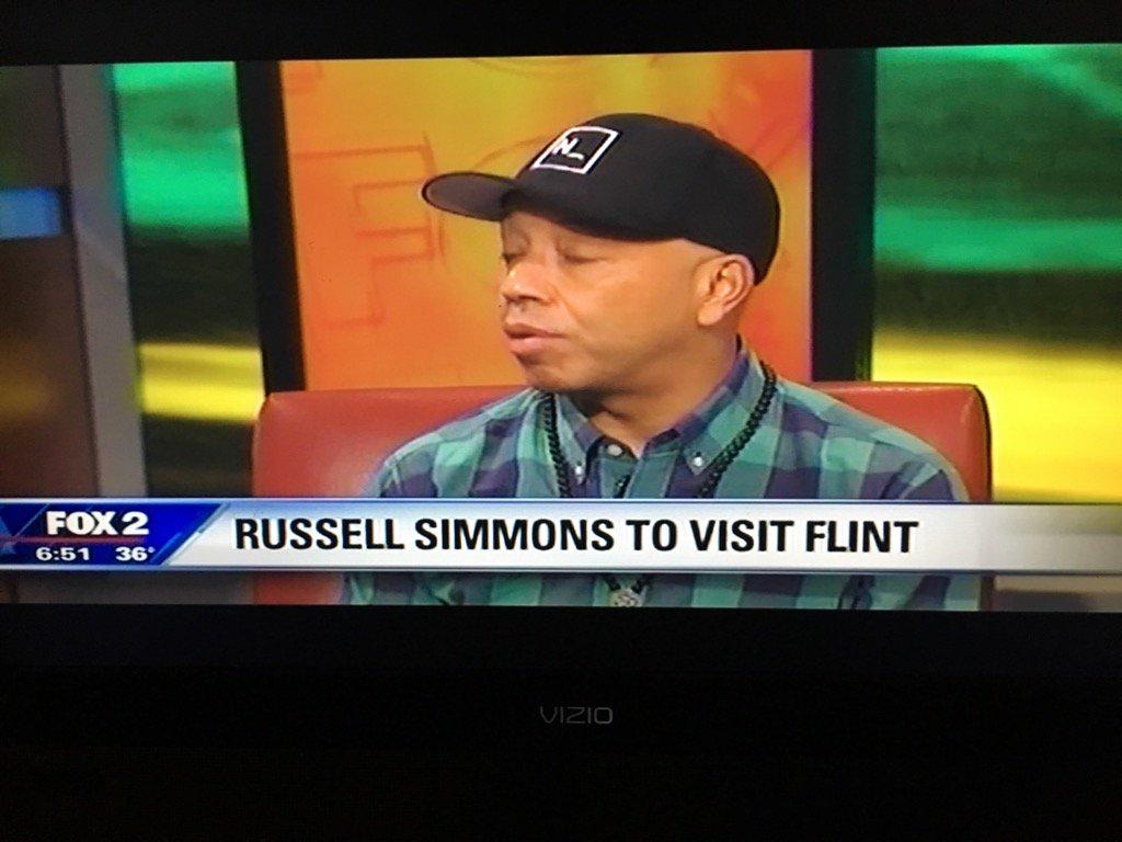 RT @DennisArcherJr: Thank you @UncleRUSH for visiting #detroit @FOX2News to emphasize the implications of #FlintWaterCrisis https://t.co/Jg…