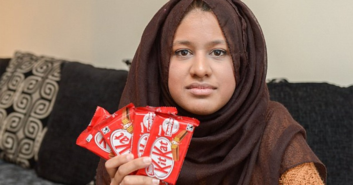 Saima Ahmad, British Law Student, Fuming Over Waferless Kit Kat and Wants Lifetime Supply
