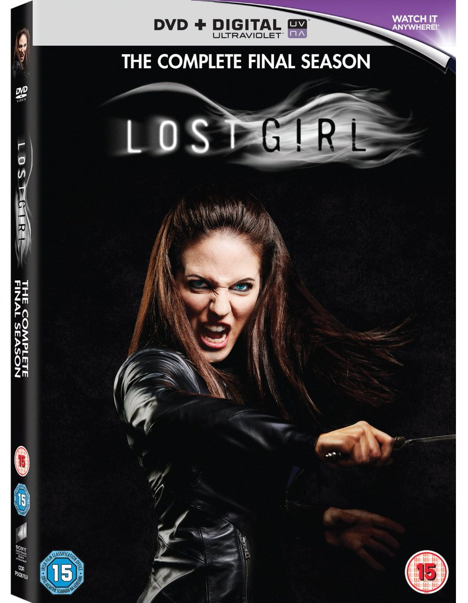 We have 3 DVDs of Lost Girl: The Complete Final Season to give away. We'll DM 3 winners in 72 hours! #RT #Win https://t.co/xveMKWRck9