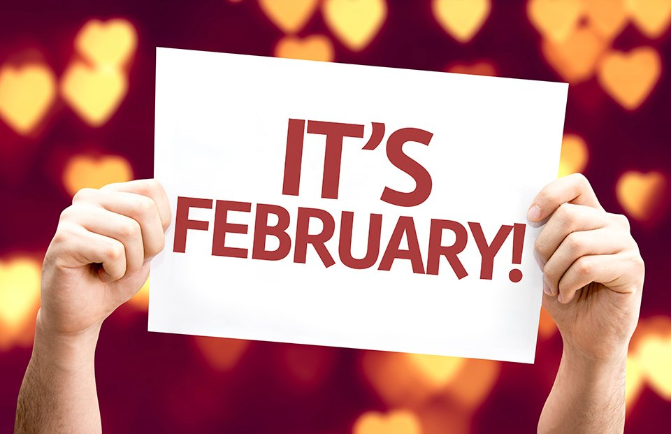 Why hello there, February! We will enjoy every day of the year's shortest month! #CPCC https://t.co/bPLuXqbYUi