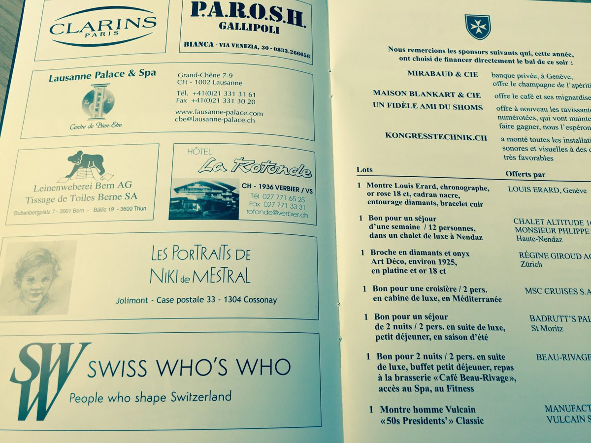 """Petit Buffet Art Deco swiss who's who on twitter: """"swiss who's who was happy to"""