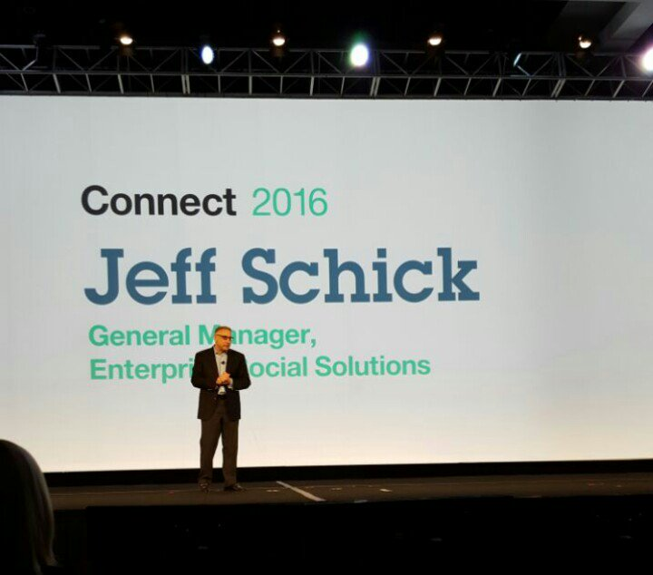 Jeff Schick takes the stage #IBMconnect https://t.co/cnh7VDPdi0