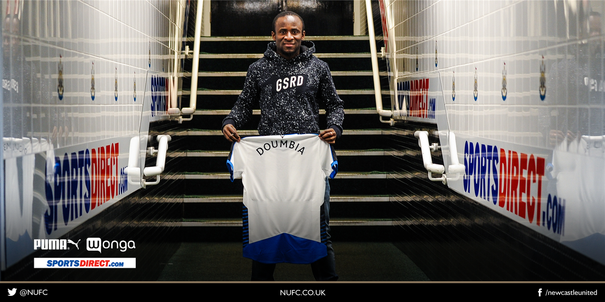 CONFIRMED: Newcastle United sign striker Seydou Doumbia on loan. More at https://t.co/iDkcawZlBb. #SeydouSigns #NUFC https://t.co/egpXiOagvm