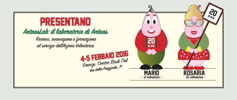 Thumbnail for #AnteasLab : 4-5 Febbraio 2016 a Firenze