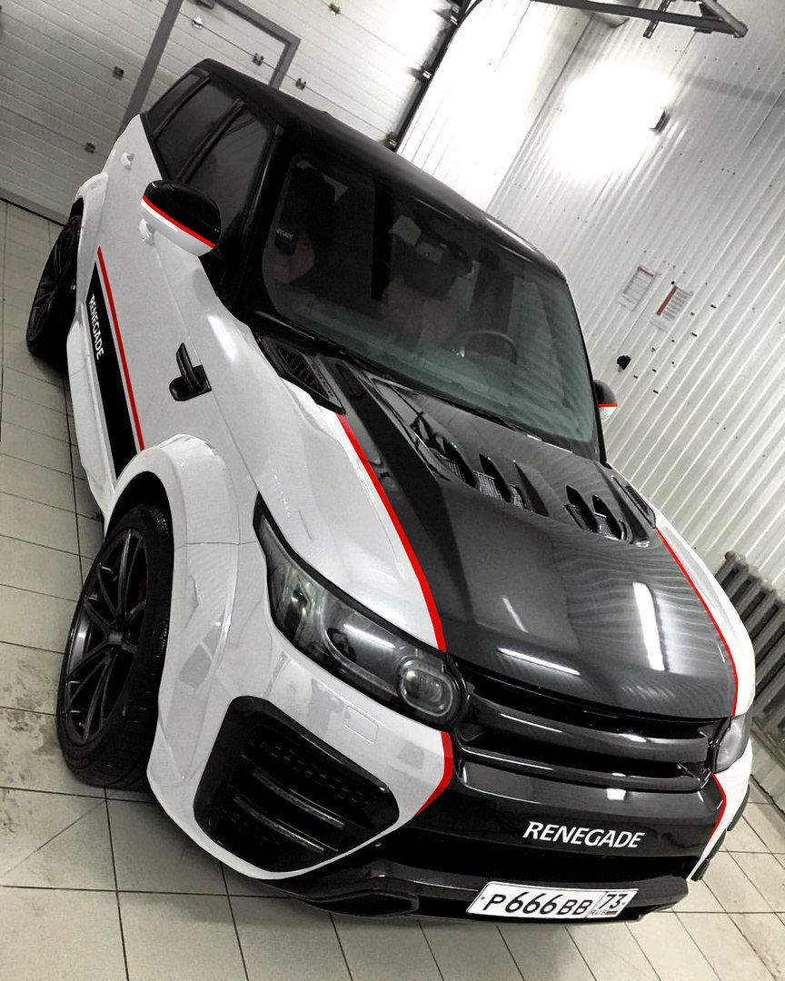 Renegade Bodykits On Twitter Car Bodykit For Range Rover Sport