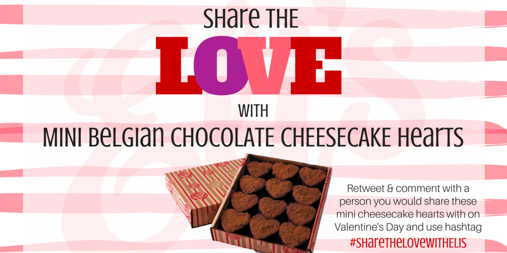 Our #SharethelovewithElis Valentine's Day #giveaway runs until Feb. 9th. RT & reply with who you'd share this with.