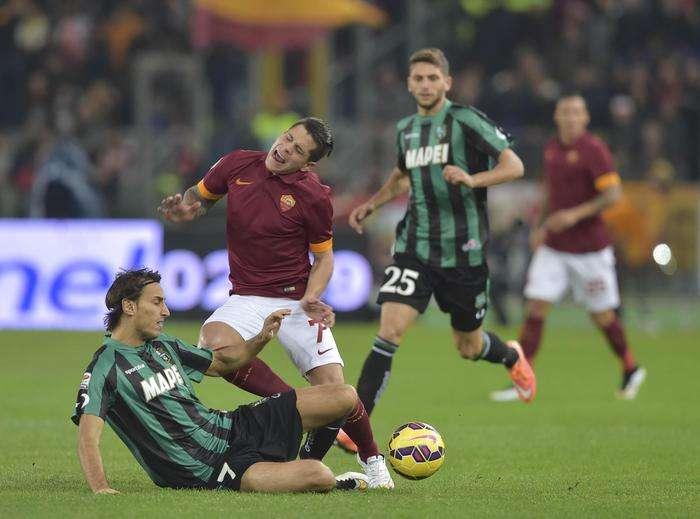 Rojadirecta Sassuolo-Roma Streaming Calcio Diretta TV Oggi