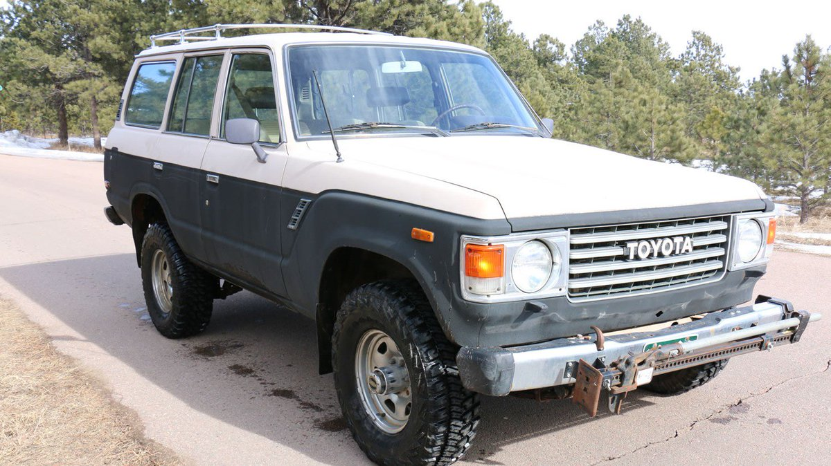 Red Line Cruisers On Twitter For Sale 1984 Toyota Land Cruiser Fj60 164k Miles Old School Rack 6500 Https Tco Q6gvmvlgee