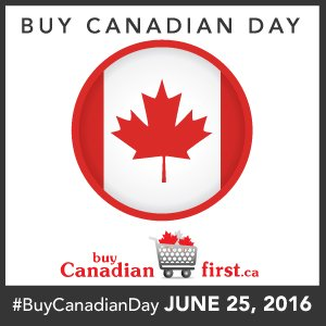 So excited to announce the 1st ever #BuyCanadianDay on June 25, 2016. Get involved! https://t.co/xcGZOFSuEx https://t.co/GVrS6noCsy