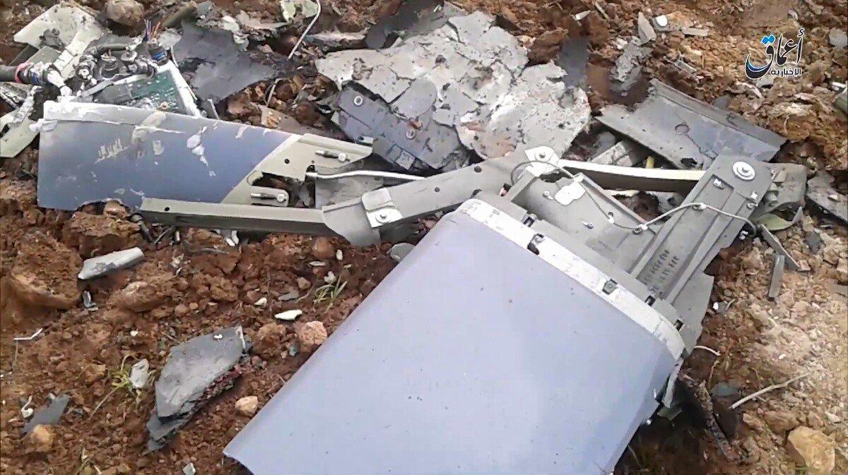 """""""Халифат"""" продемонстрировал обломки крылатой ракеты MBDA SCALP EG"""