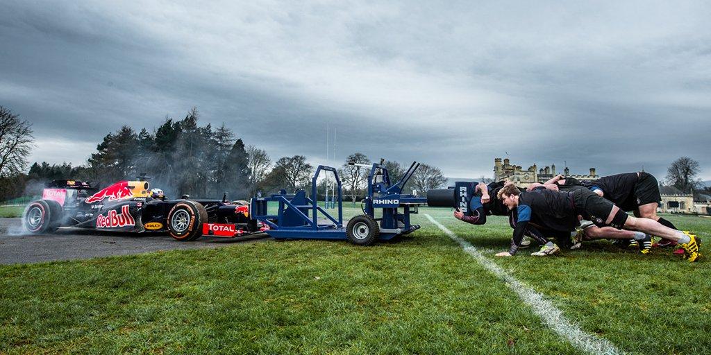 F1 Car vs Rugby Scrum - see what happened ➡ https://t.co/bZrk7UDm7e #F1Scrum https://t.co/ujDk0geFjl